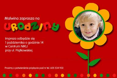 Kalendarz 2019 Zaproszenia Na Urodziny Kinderbal Ze Zdjęciem